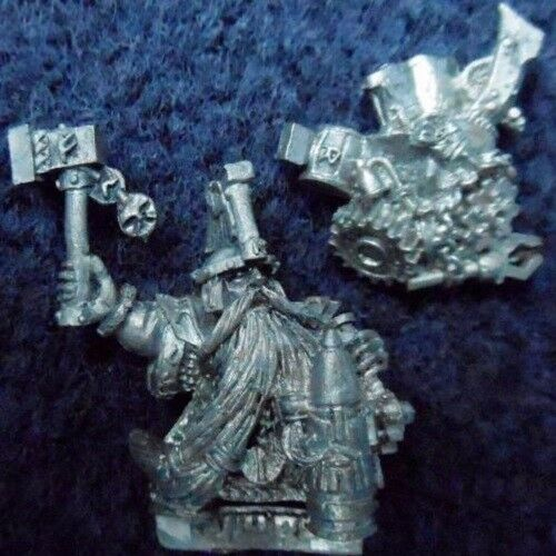 2005 Dwarf Master Engineer with Hand Weapon Games Workshop Miner Warhammer Army