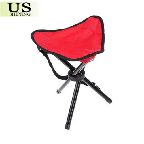 LARGE Slacker Chair Folding Portable Travel Tripod Stool Outdoor Camping Fishing
