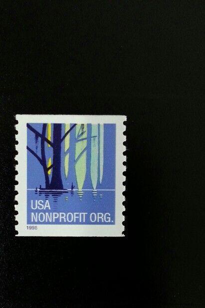 1998 5c Wetlands Non-Profit, Coil Scott 3207 Mint F/VF