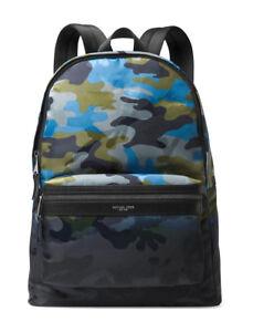28d17f847c3f MICHAEL KORS 2019 Kent Ocean Camo Backpack LAPTOP Work Travel Bag ...