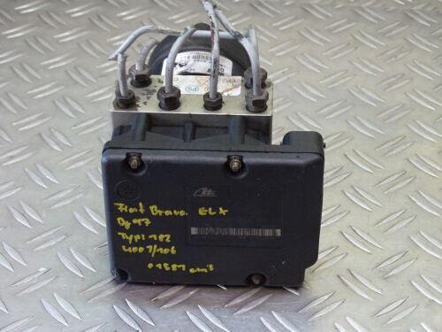 Fiat Bravo brava original ABS hydraulikblock unidad de control 46456468 10094616023