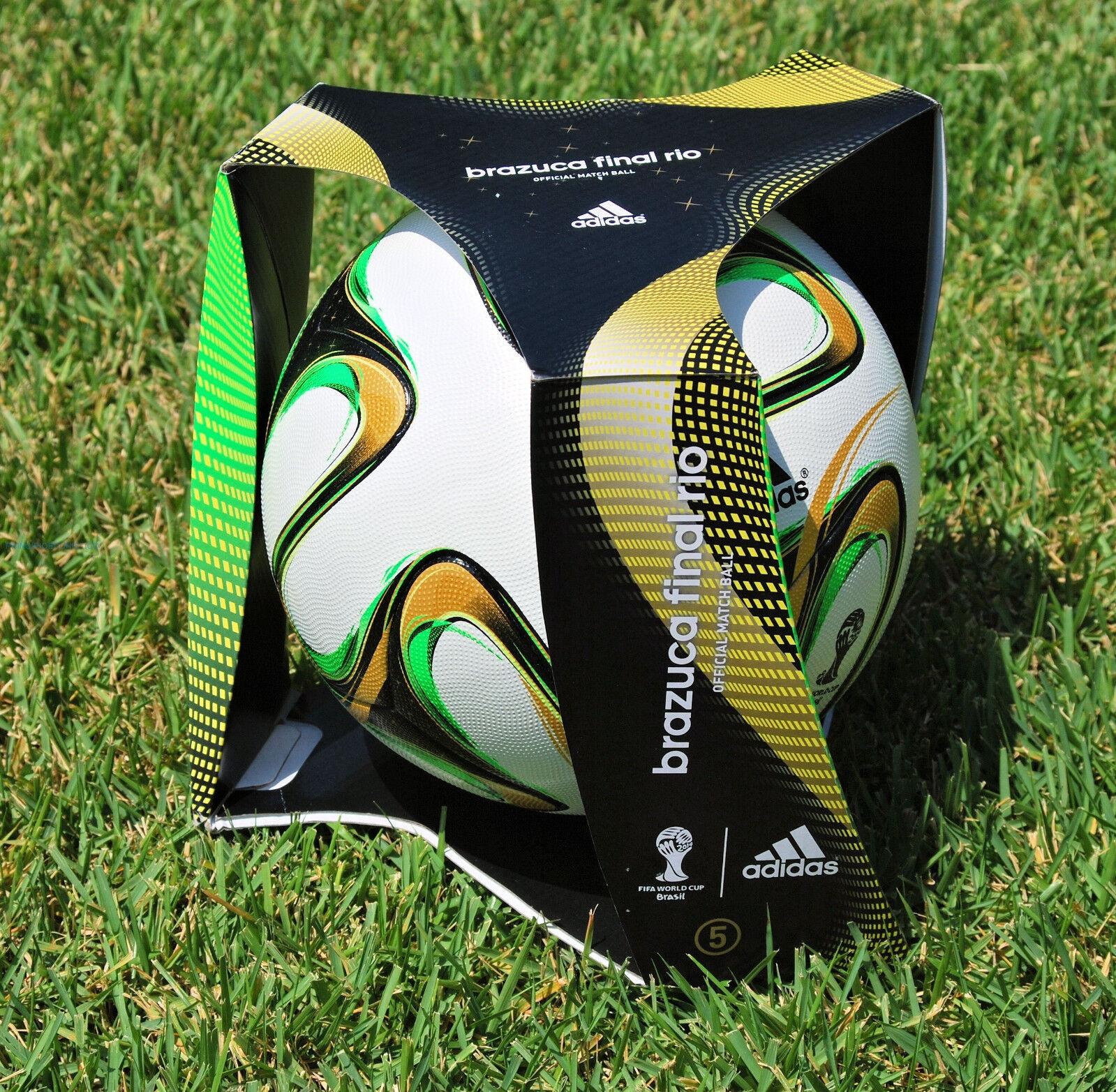 Pallone Adidas Brazuca Final Nuevo Original Fifa Mundiales Fútbol Brasil