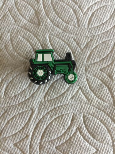 TRACTOR SHOE CHARM GREEN TRACTOR SHOE CHARMS FITS CROCS TRACTOR CLOG CHARM