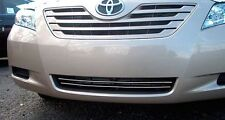 LOWER GRILL GRILLE CHROME ACCENT TRIM STRIPS KIT FIT 2007 - 2009 TOYOTA CAMRY