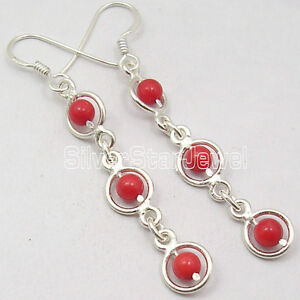 Image Is Loading 925 Silver Earrings C Unusual Beads Amp Other