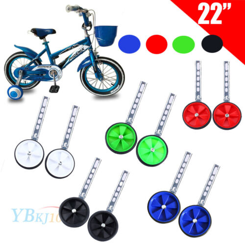 "Bicycle Cycle Universal Bike Stabilisers Children Kids Training Wheel 12~20/"""