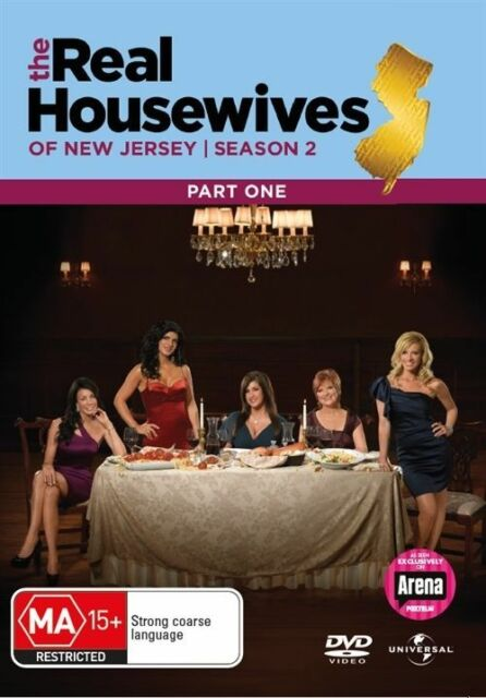 The Real Housewives Of New Jersey : Season 2 : Part 1 (DVD, 2011, 2-Disc Set)