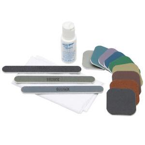 Aimable Micro-mesh-craft Kit Avec Soft Touch Pads Pour Abrasif Polissage/ebenisterie-afficher Le Titre D'origine Jolie Et ColoréE