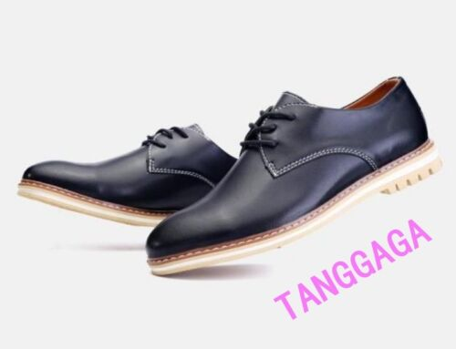 Fashion British Stylish Mens Lace Up Flats Business Formal Dress Shoes Casual