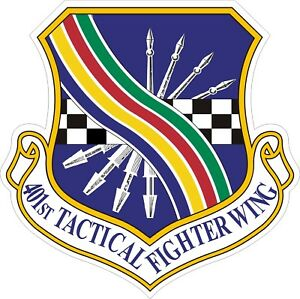 US-Air-Force-USAF-401st-Tactical-Fighter-Wing-Decal-Sticker