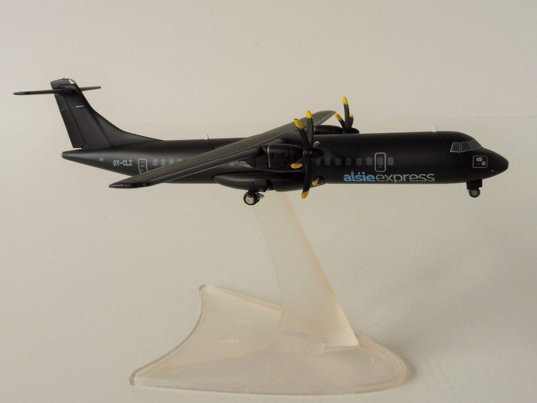 Alsie Express atr-72-500 1 200 Herpa 558396 ATR 72 atr-72 Denmark
