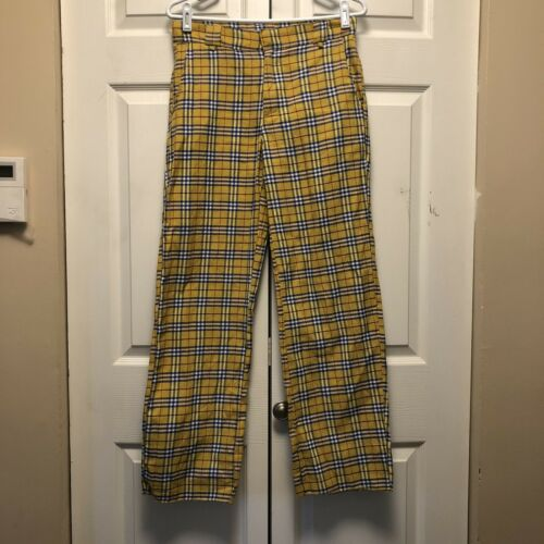WOMEN'S OMIGHTY CLUELESS PLAID PREPPY PANTS