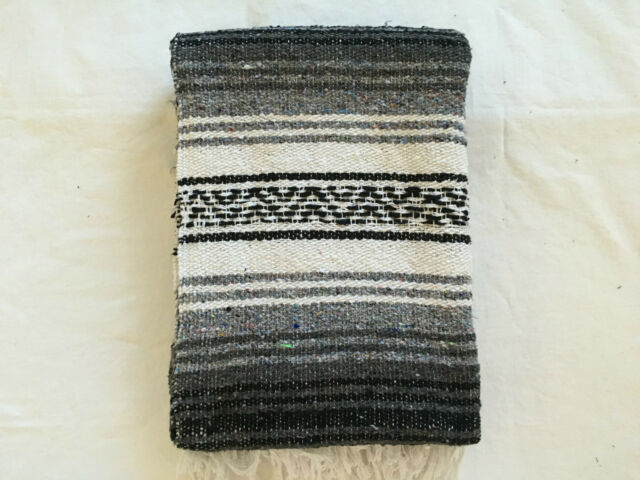 MEXIMART/'s® Rasta MEXIMARTs Authentic Mexican Falsa Blanket Hand Woven
