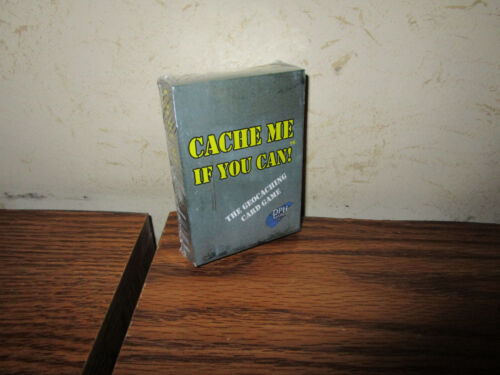 DPH Games Cache Me If You Can The Geocahing Card Game