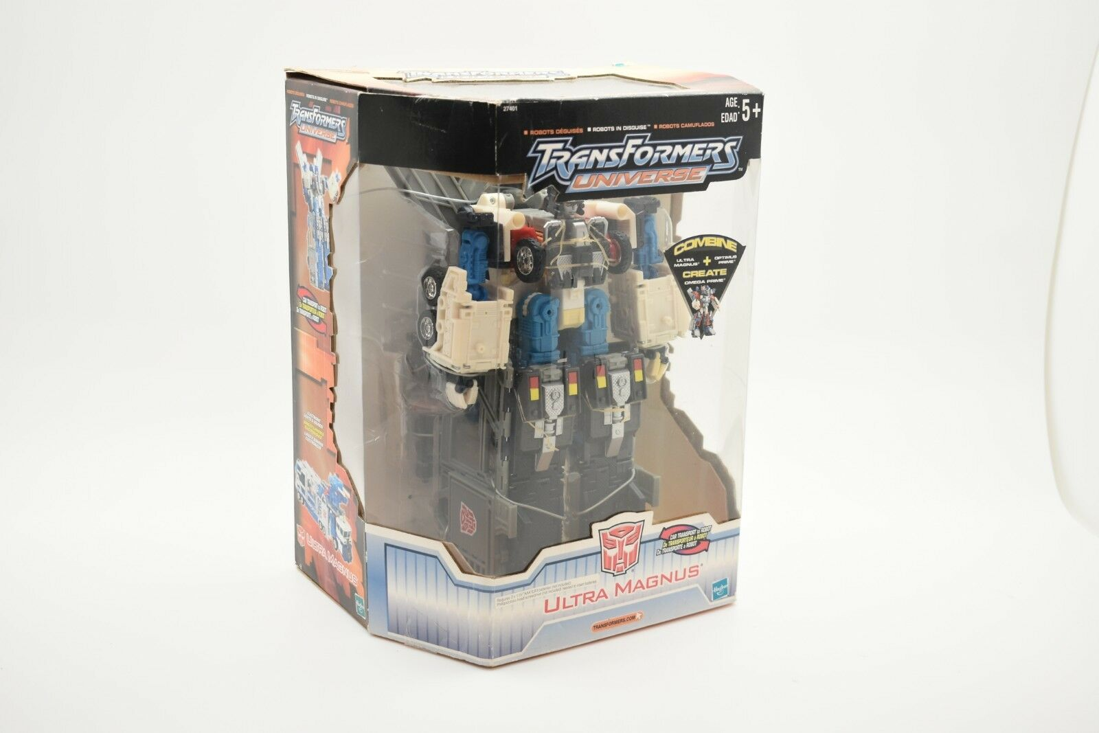 TRANSFORMERS UNIVERSE ULTRA MAGNUS MISB SEALED NEW RARE 2003