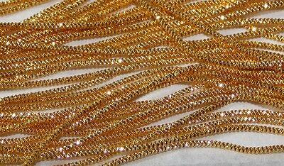 Benton /& Johnson GILT metal goldwork embroidery thread-many sizes Rough Purl