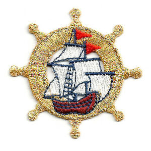 1PC~CRUISE LINE~IRON ON EMBROIDERED APPLIQUE PATCH