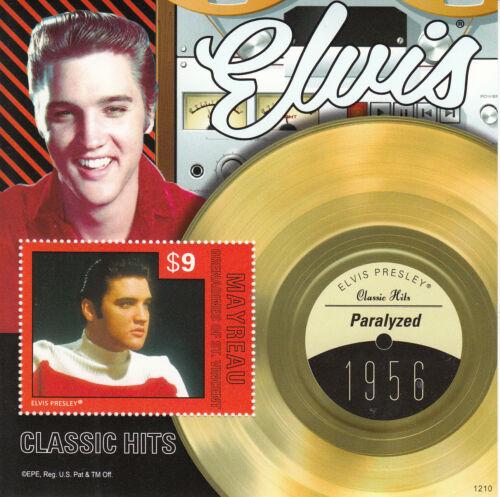 Mayreau Grenadines St Vincent 2012 MNH Elvis Presley Classic Hits IV 1v S/S