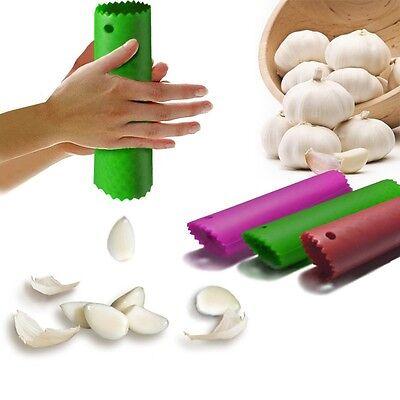 Best Useful Kitchen Tool Magic Silicone Garlic Peeler Peel Easy Random Color NEW