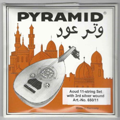5 X PROFESSIONAL OUD STRINGS ARABIC SYRIAN TUNING PYRAMID PSO-650