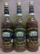 Golden Beach Jamaica Rum 54 % Alkohol 3 Flaschen