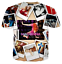 Hot-Star-Sexy-Madonna-3D-Print-Casual-T-Shirt-Mens-Womens-Short-Sleeve-Tee-Tops thumbnail 10