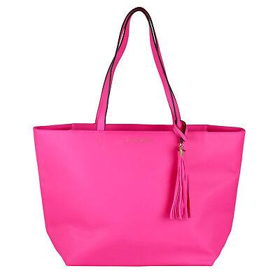 """Victoria's Secret Damen Tasche Shopper groß """"gypsy rose"""", neon pink 23301334"""