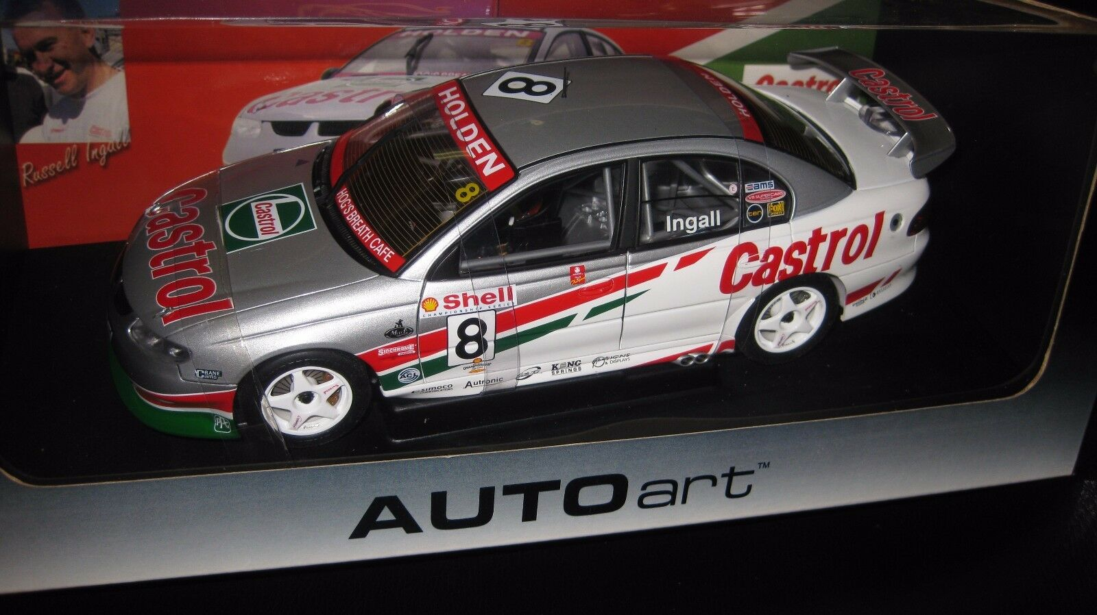 Autoart 1   18 holden vt commodore russell ingall 2000 saison v8 supercars   8.