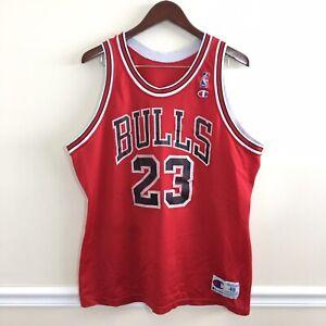 29e61b3267b88e Vtg 90s Champion Chicago Bulls Michael Jordan Mens Nba Basketball ...