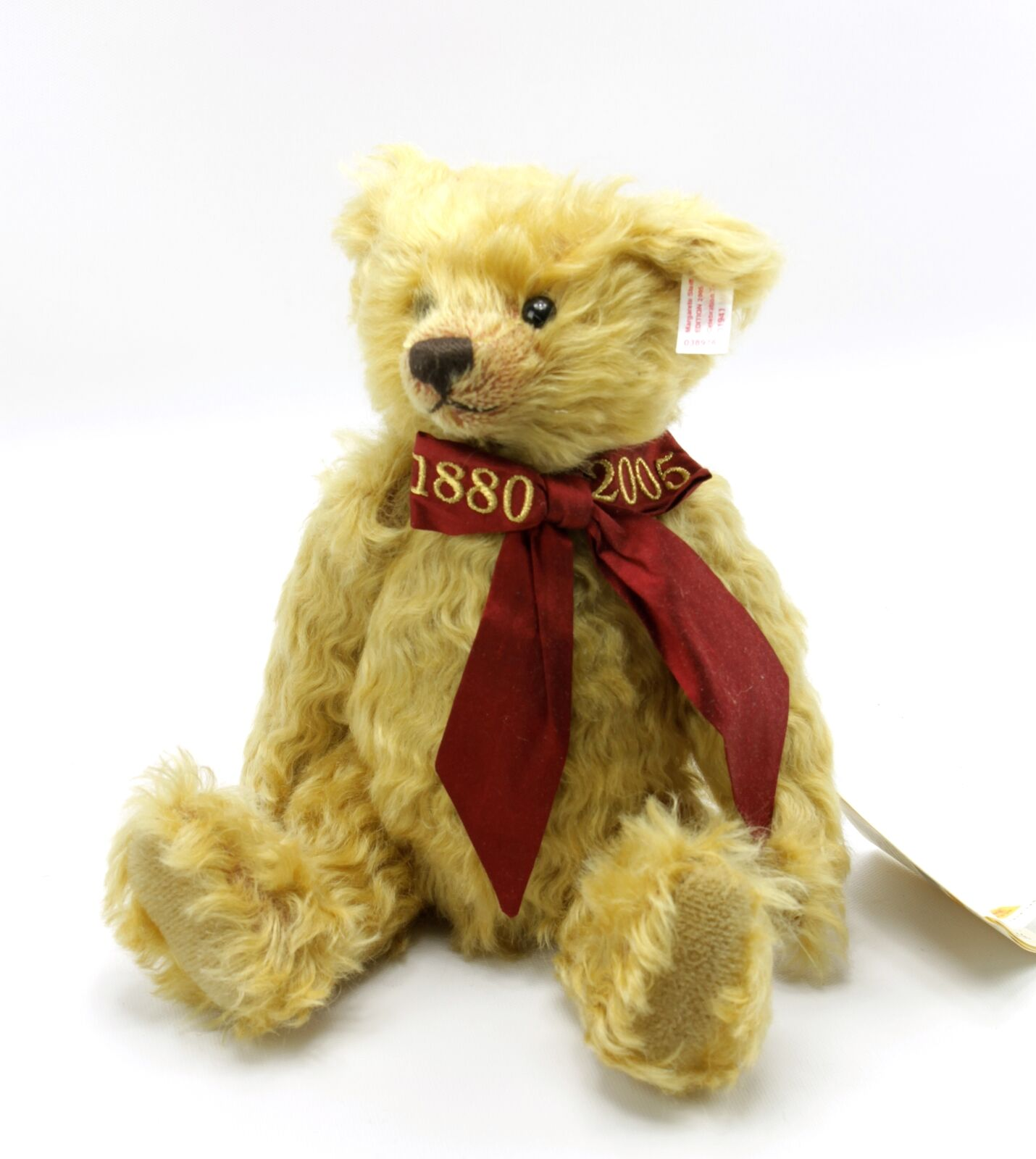 Steiff Teddy Bear Celebration Teddybar Blonde Jointed Mohair 1880-2005 30cm