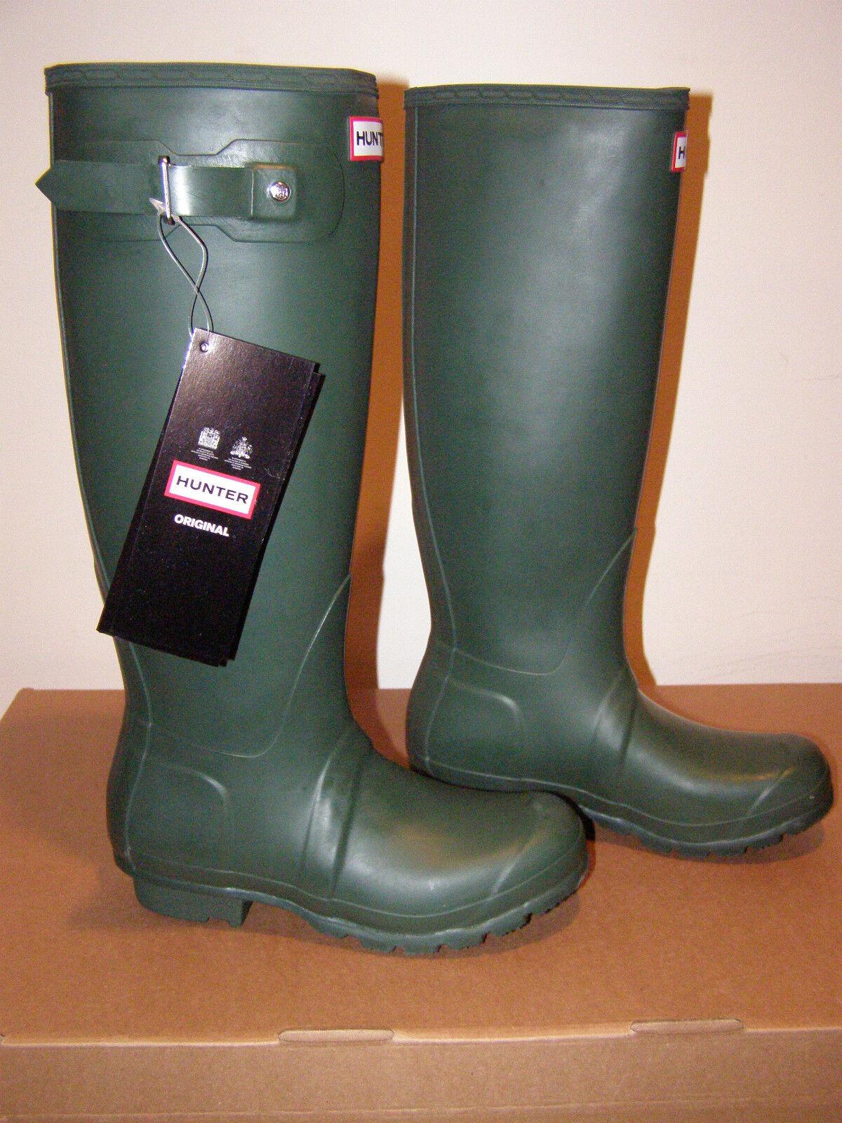 Nuevo Hunter Sz 5 Mujeres Alto Bota Bota Bota verde Oscuro Original Wellington botas De Lluvia  oferta especial