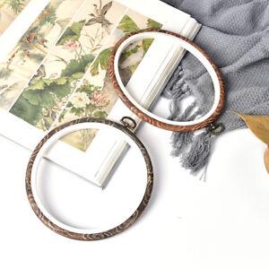 Embroidery-Hoop-Circle-Round-Frame-Art-Craft-DIY-Cross-Stitch-FU-EB