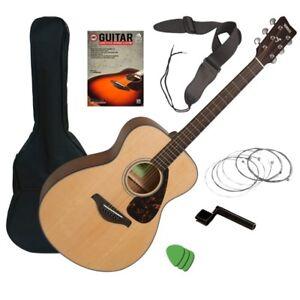 Yamaha FS800 Acoustic Guitar - Natural GUITAR ESSENTIALS BUNDLE