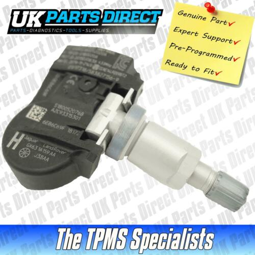 - Genuine JLR Part Land Rover Range Rover Sport TPMS Sensor LR070840 10-20