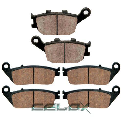 Front Rear Brake Pads For Honda VTX1300C 2004 2005 2006 2007 2008 2009