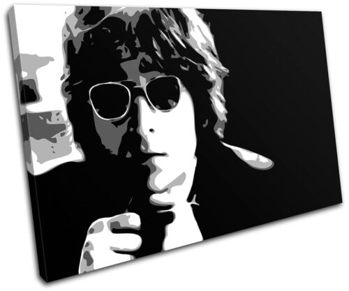 John Lennon Iconic Celebrities SINGLE Leinwand Wand Kunst Bild drucken