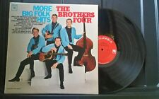 EX - THE BROTHERS FOUR MORE BIG FOLK HITS COLUMBIA MONO CL 2213 RECORD 33 RPM EX