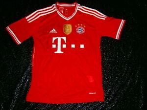 ADIDAS FC BAYERN MUNICH MUNCHEN SOCCER FOOTBALL JERSEY SHIRT KIT 14Y FIFA 2013