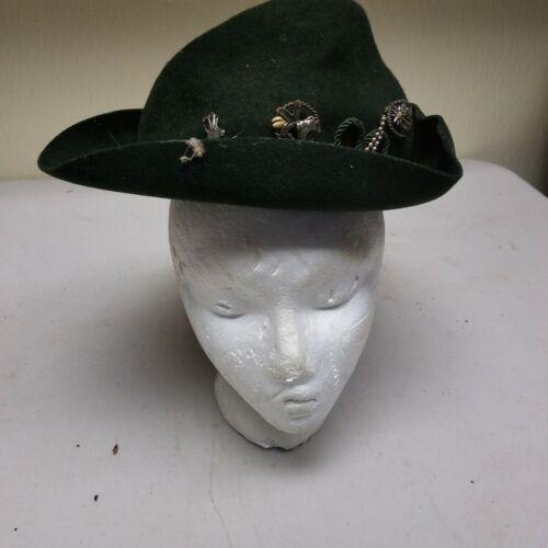 Vintage Robin Hood Robur Small Cowboy Hat Vintage