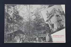 Tarjeta-Postal-Antigua-CPA-Animada-Bourbonne-Fuente-Maynard