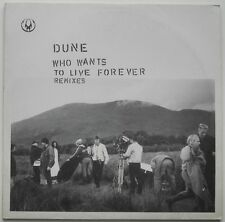 "12"" DE**DUNE - WHO WANTS TO LIVE FOREVER (REMIXES) (ORBIT '96)**25706"