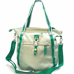 George-Gina-amp-Lucy-Borsa-Donna-Shopping-Grande-Verde-Tessuto-Tracolla-G0001CIT
