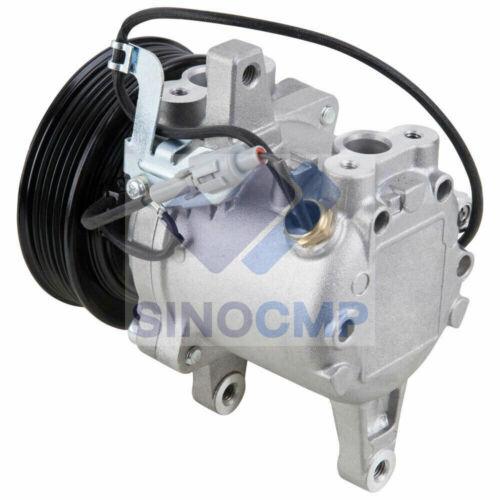 SVO7E 6 GROOVE AC Compressor 3P999-00620 for Kubota M135GX GXDTC M126 Parts