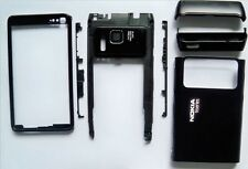 Black Cover facia housing faceplate case fascia for Nokia N8 housing