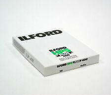 "Ilford HP5 Plus 400 4x5"" ( 25 Sheet )Black & White Film.Brand New.#filmisnotdead"