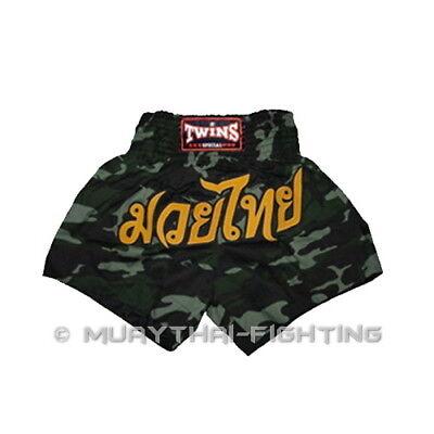 Twins Special Muay Thai Boxing Kick Boxing MMA Shorts 4S 3S XS S M L XL 3L 4L