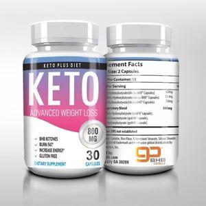 keto diet plus 800 mg