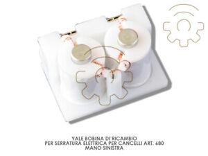Yale-bobina-ricambio-serratura-elettrica-art-680-mano-sx-12-V-067010002