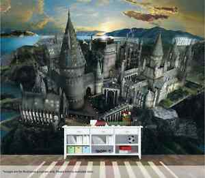 Image Is Loading Harry Potter Wall Mural Wall Art Quality Pastable  Nice Design