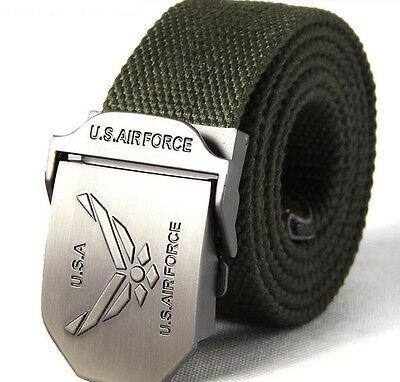 U.S. Air Force Special Forces tactical military version thicken canvas belt-Y002